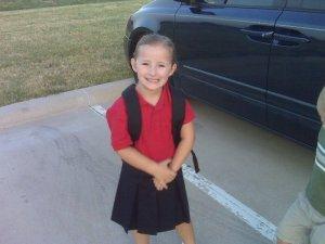 karis first day of school
